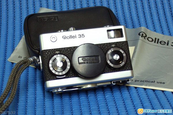 早期德國製 ROLLEI 35 Carl Zeiss Tessar 40 / f3.5 經典相機