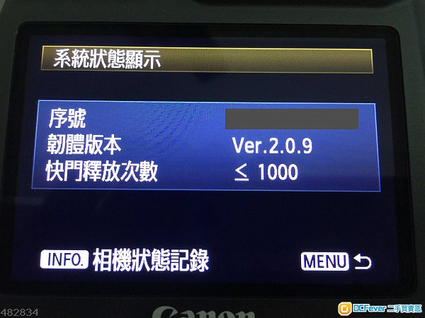 99新2016年尾Canon 1DX行貨,快門少於1,000張, 2粒原廠電 極速64GB CF可換5D4/5DS R /L鏡