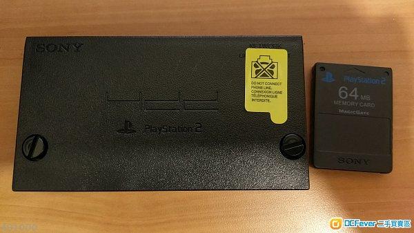 PS2原装IC芯片网卡 and PS2游戏机引导卡