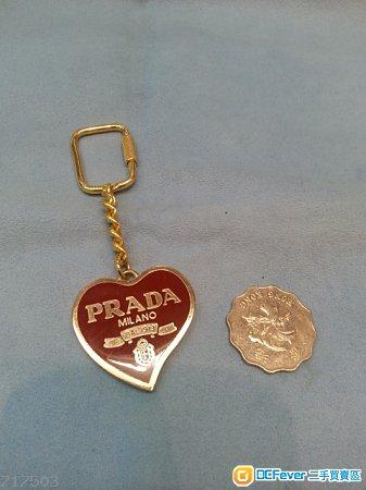 新淨 PRADA 鎖匙扣,只售HK$100(不議價)