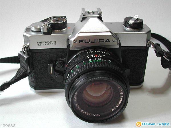 合初學者fujica stx-1連50mm 1.9lens單鏡反光機