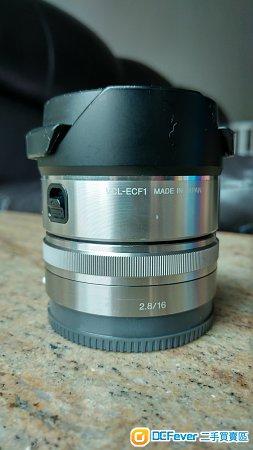 Sony e16mm  2.8 + ecf-1 魚眼鏡
