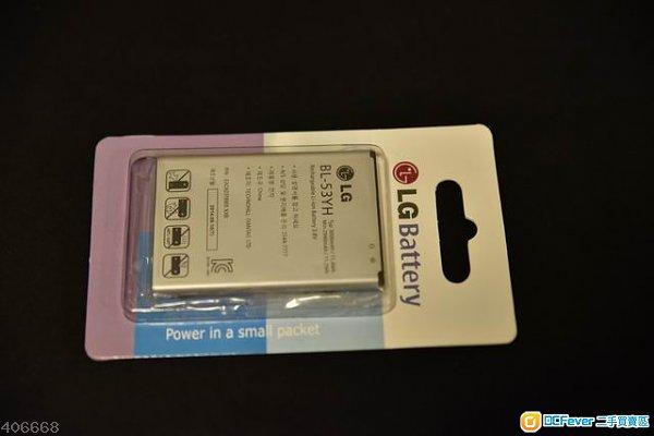全新原裝電池LG G3 BL53YH 3000mah,單卡及雙卡版通用