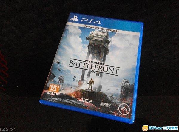 PS4  STAR WAR中英文版
