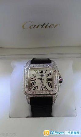 Cartier Santos 100XL Automatic 42mm With Diamond