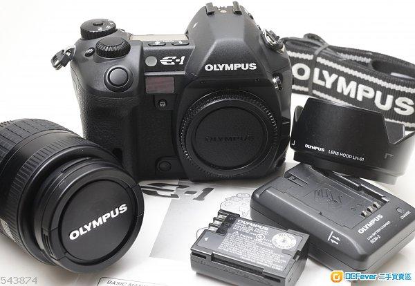 Olympus E-1 跟 14-45mm f/3.5-5.6 同 M8 M9 用同一粒 Kodak FFT CCD   等同AF  M機