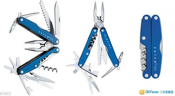 平售 90%new Leatherman Juice CS4 Multi tool USA 藍色輕便多用能工具 修理電腦