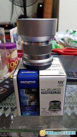 Olympus M.Zuiko Premium 45mm F1.8 高性價比人像鏡