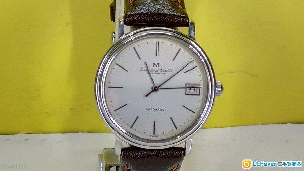 IWC (萬國錶) 綱皮帶腕錶