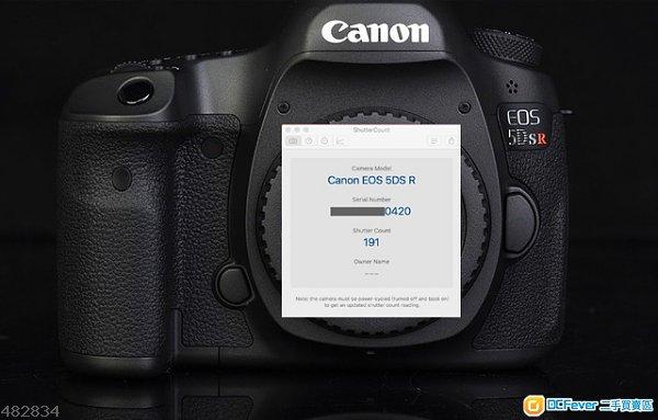 99.9新CanonEOS 5DS R行貨-2年保養,快門191-再加碼跟多5千幾蚊配件可換1DX2/5D4/6D2