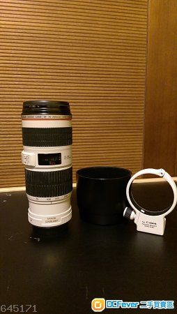 Canon EF 70-200mm f/4.0 L IS USM 小小白