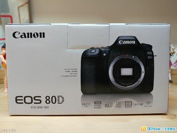 Canon Eos 80D over 95%新。~副廠直倒