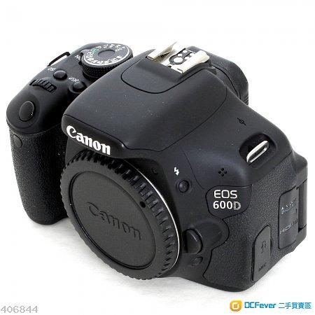 99.99% 新 Canon EOS 600D Body only (超新淨企理)