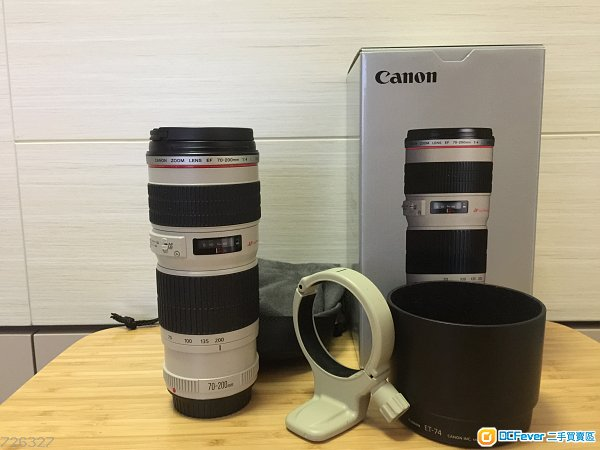 canon EF 70-200mm F4L Usm non Is