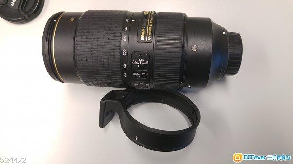 90% new Nikon AF-S NIKKOR 80-400mm f/4.5-5.6G ED VR
