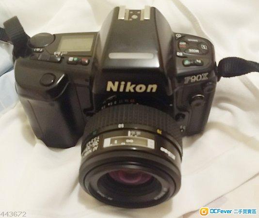 Nikon F90x 連 MF-26多功能日期機背 及 Nikon af 35-70mm