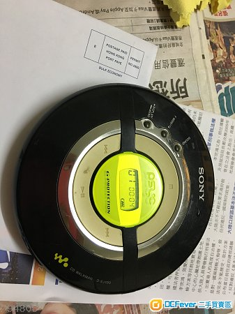 SONY CD WALKMAN D EJ100