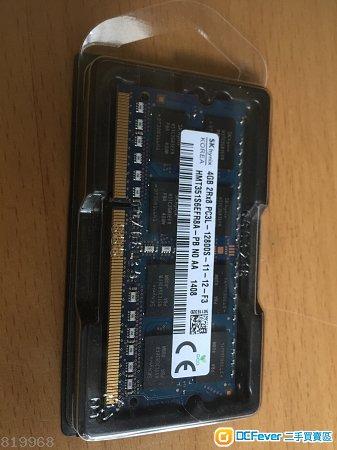 Notebook Ram DDR3 PC-12800 4G Ram