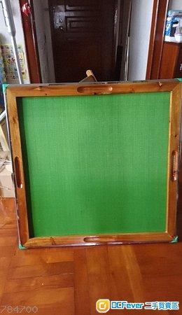 麻雀枱板  尺碼-板83x83x25厚cm