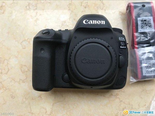 超新淨冇花Canon 5D Mark IV 5D4, 有保行貨, SC<300 跟近7千蚊配件 另售 600EXRT原廠閃燈 可換1DX