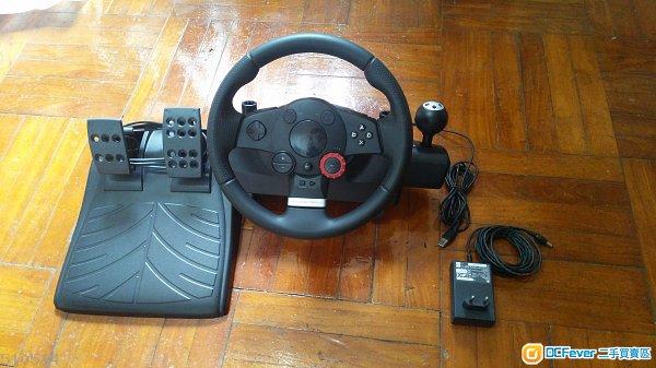 Logitech Driving Force GT 方向盤 PS3 PC