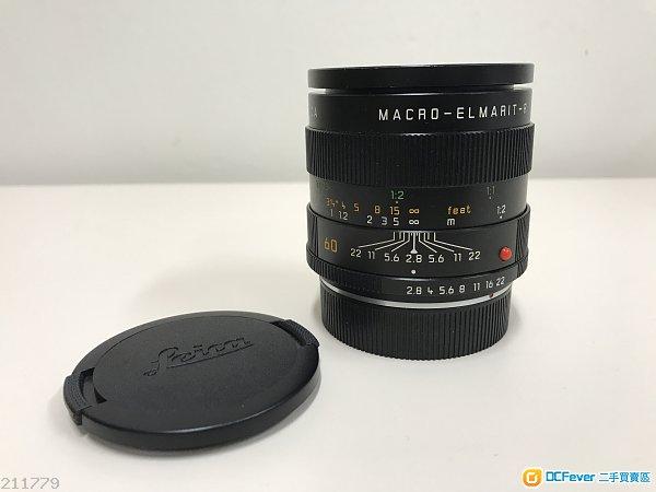 Leica Macro Elmarit R 60 F2.8 E55 ROM Made in Germany