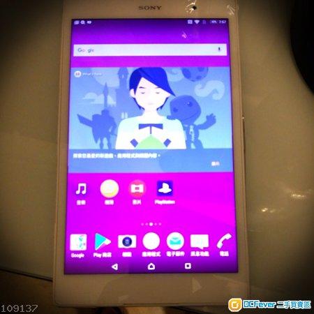 85% 新 Sony Tab Z3 4g Lte