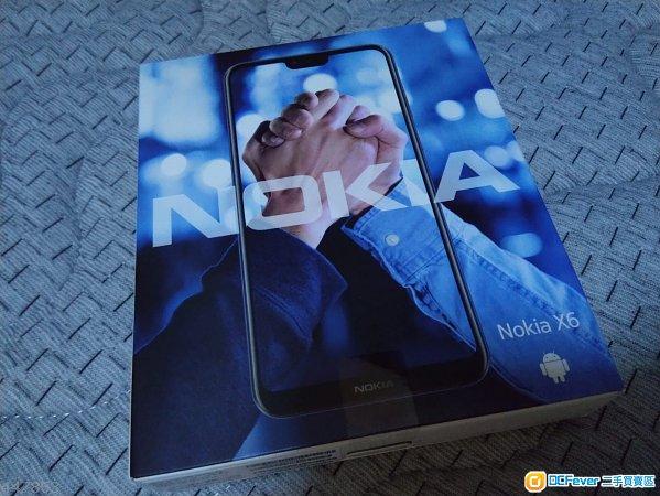 Nokia X6 \/ Nokia 6.1 plus 6+64 (国行)