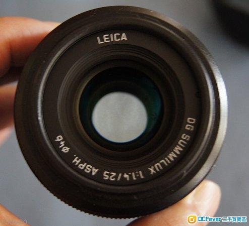 Leica 25mm f1.4 Lens
