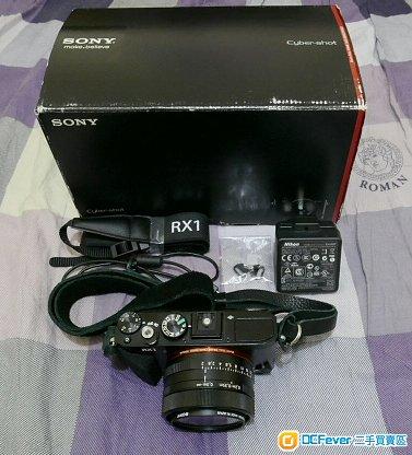 Sony RX1 初代全片幅Zeiss 35mm f/2 大光圈數碼相機(看內文,手動對焦環壞)