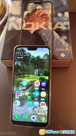 99% New Nokia X6 6.1 plus 4+64 全套 国行