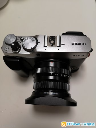 Fujifilm X-E3 (銀色)連 XF35mm F2 R WR(黑色)(行貨有保)