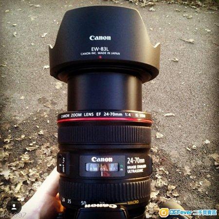 Canon 24-70mm f4 usm
