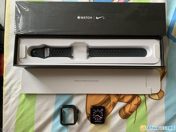 99%新Apple Watch WATCH SERIES 3 LTE NIKE 42MM  (行貨有APPLE CARE保,請詳看內容)
