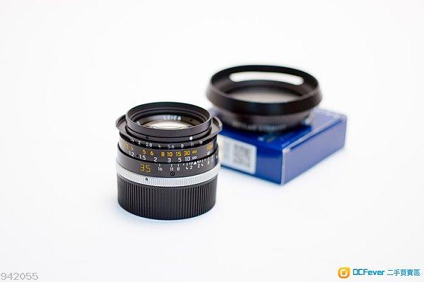 Leica Summilux 35mm F1.4 Pre-A 德製版本