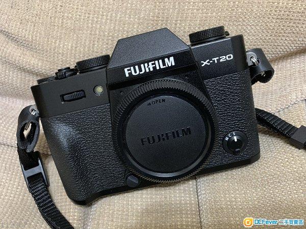 fujifilm xt 20 99%new 行貨無花全套有單,保用至2019年10月