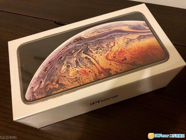 全新 iphone XS MAX 256G 金色 香港AOS蘋果行貨 全新