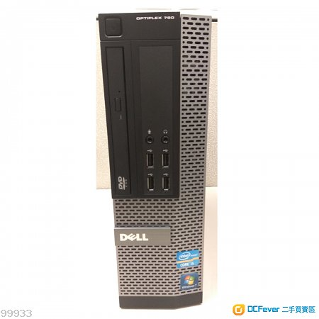 九成新 DELL Optiplex 790 SFF i5-2400(3.1GHz) (共有7部)