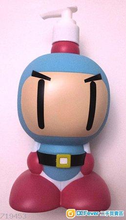 (全新正版) BOMBERMAN 泡泡樽/瓶連包裝紙盒 (有數件)