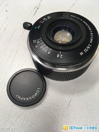Lomography LC-A Minitar 32mm f2.8 Leica M mount lens