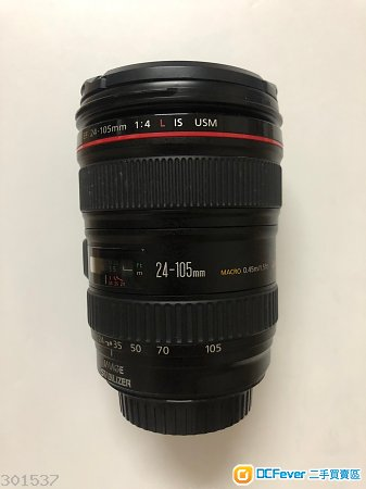 90% NEW 行貨 Canon EF 24-105mm F4L IS USM (1代)