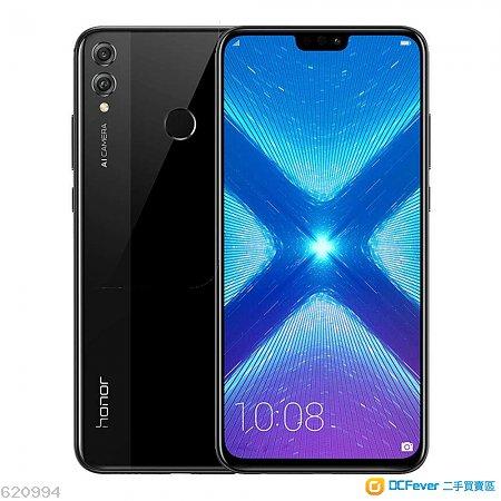 華為 Huawei Honor 8X  4+64GB 黑色全套 99.9% 新