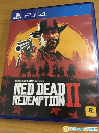 PS4 Red Dead Redemption 2 中文