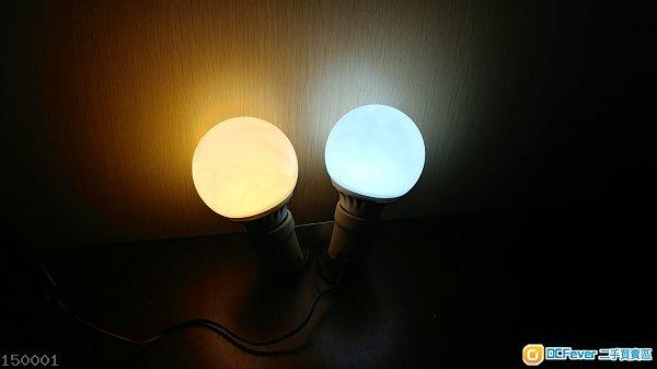 9w 三色LED 燈泡 6個