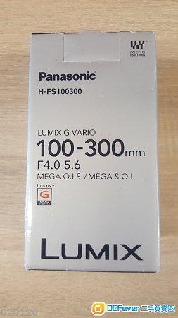 Panasonic H-FS 100mm-300mm 4.0-5.6