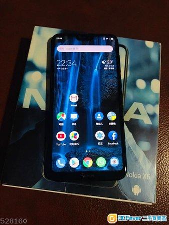 Nokia X6\/6.1 Plus (4+64GB) (国行)
