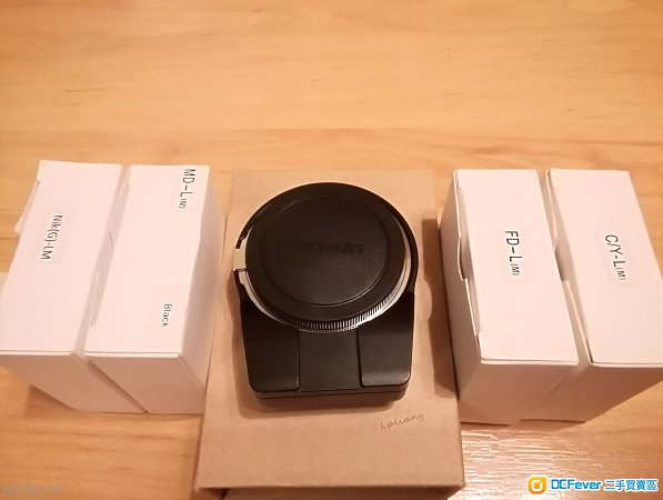 天工Techart LM-EA7 + 4 Adapter (FD/MD/CY/Nikon)