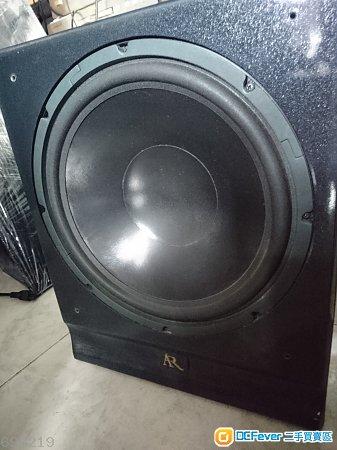 美國 AR SUB30A 12寸有源重低音