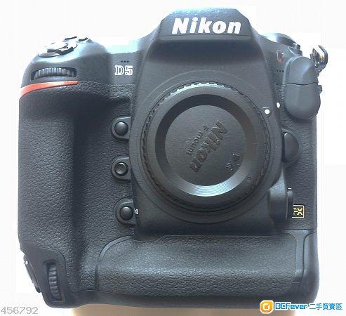 99%新行貨3個月機長保Nikon D5 CF版 3粒EL18b,快門178,頂級128G CF 70-200LB6可換Z7,A9,D850