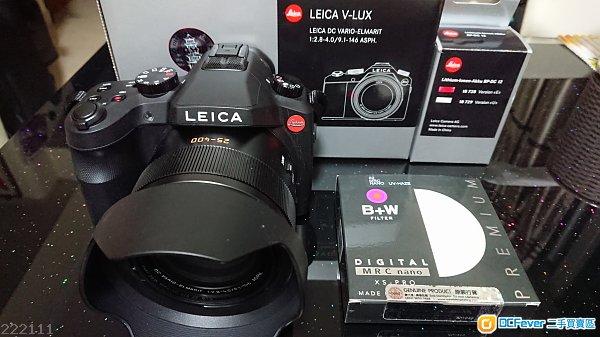 九成新Leica超級天涯機(V-lux 114)+B+W filter+額外原廠電!